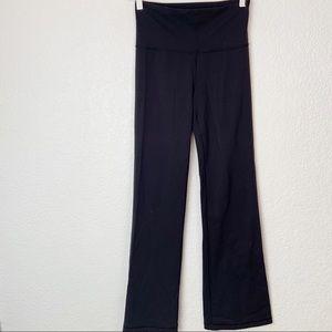 Lululemon Roll Down Black Groove Pants 4